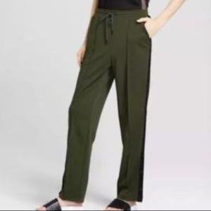 Hunter for Target Olive Side-Snap Track Pants